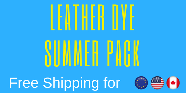 Leather Dye Summer Pack