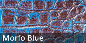 Exotic Leather Dye - Morfo Blue